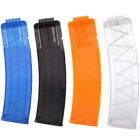 22 Clear Darts Clip Bullets Magazine Replacement For Nerf N-strike Elite Toy Gun