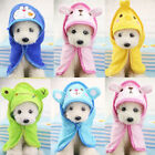 Cute Pet Blanket Puppy Teddy Dog Bath Towel Cloak Super Made Of Absorbent Fabric