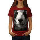 Wellcoda Panda Face Cute Womens T-shirt, Beautiful Casual Design Printed Tee