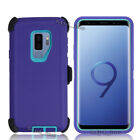 Samsung Galaxy s9 + S9 Defender Case With Screen Protector Fits Otter box