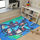 Kyпить Kids Area Rugs Car Play Crawling Activity Mat Road Floor Game Bedroom Carpets  на еВаy.соm