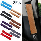 2Pcs Car Safety Seat Belt Pad Shoulder Pads Cover Cushion Harness Comfortable