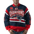 New England Patriots G-III GLADIATOR 5 Times Champions Jacket - SUPER SALE !!!! $59.99 USD on eBay