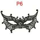Dancing Mask Sexy Women Black Hollow Out Lace Mask Cat Woman Batman Eye Mask  Ej