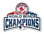 Boston Red Sox Champions 2018 World Series Precision Cut Decal on Ebay