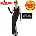K676 Audrey Hepburn Breakfast at Tiffanys Celebrity Holly Dress Up Costume