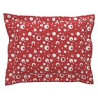 Betty Boop Red White Polka Dot Spots Dots Pillow Sham by Roostery $43.0 USD on eBay