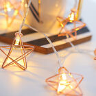 Led Battery Star Copper Fairy String Lights Party Xmas Wedding Home Decor Kids