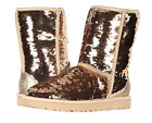 UGG Classic Short Sequin Gold Combo Boot Women's sizes 5-11 NEW!!!