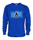 SAINT LUCIA DISTRESSED FLAG UNISEX SWEATER TOP ST. LUCIA SHIRT JERSEY GIFT