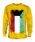 KUWAIT GRUNGE FLAG UNISEX SWEATER TOP AL-KUWAYT FOOTBALL KUWAITI GIFT SHIRT