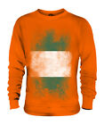 NIGERIA FADED FLAG UNISEX SWEATER TOP NIGERIAN SHIRT FOOTBALL JERSEY GIFT