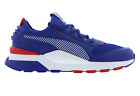 Mens PUMA RS 0 X SEGA SONIC Blue Trainers 36834 601