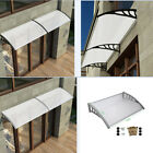 Door Canopy Awning Shelter Roof Front Back Porch Outdoor Shade Patio Rain Cover