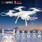 SYMA X8PRO 2.4GHz RC Drone Quadcopter w/ GPS Positioning Wifi FPV 720P HD Camera