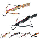 150 lb Black / Wood / Camouflage Camo Hunting Crossbow Bow +2 Arrows 180 80 50