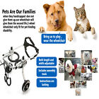 S/M/L Pet Dog Wheelchair For Handicapped Hind Legs Dog/Cat To walk -US Seller