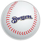 Milwaukee Brewers MLB Slogan Logo Ball  Bumper Sticker Decal --9'', 12'' or 14'' on Ebay