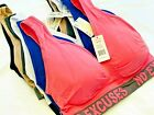 SPORTS BRAS 6 OR 3 BRA YOGA ACTIVE WEAR PLUS SIZE Seamless RACER BACK TOP 270