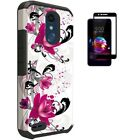 Phone Case for AT&T PREPAID LG Xpression Plus, Shockproof Hard Cover Case + TG