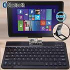 "For 10"" 11"" Dell Venue Tablet Slim Wireless Bluetooth Keyboard + Stand Holder"