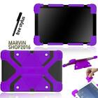 "Fit Various 9"" 10"" Tablet Universal Shockproof Silicone Stand Cover Case +Stylus"