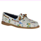 Sperry Top-Sider A/O 2-Eye Map Print Women's Boat Shoes