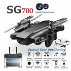 Foldable Pocket Drone Wifi FPV 2.4G RC Quadcopter Dual 2MP FHD Camera Real-Time