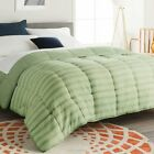 Luxury Supersoft Goose Down Alternative Comforter Twin Queen King Size, 11 Color <br/> Satisfaction Guaranteed. Always Free Shipping!