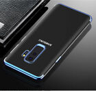For Samsung Galaxy S9 S8 Luxury Ultra Slim Shockproof Silicone Clear Case Cover