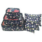 6pcs Waterproof Travel Clothes Storage Bags Luggage Organizer Pouch Packing Set