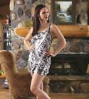 Naked North Snow White Camo Lounge Shorts ONLY S L OR XXL