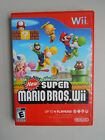 Nintendo Wii Mario Games! You Choose from Large Selection! Many Titles!