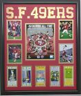 San Francisco 49ers Super Bowl Championship 20x24 Black frame or mat Montana $35.0 USD on eBay