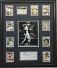 Thurman Munson Topps Card Reprint set 20x24 Black frame or mat Yankees on Ebay