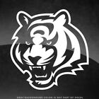 "Cincinnati Bengals NFL Vinyl Decal Sticker - 4"" and Larger - 30+ Color Options! $4.99 USD on eBay"