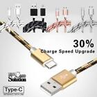 Type C USB 3.1 3FT Charging Data Sync Charger Cable FOR Various Smartphones