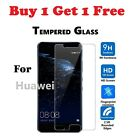 Buy 1 Get 1 Free Tempered Glass Screen Protector For Various Huawei Phones