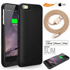 Extra Charging Battery Case MFI Slim iPHONE 5 5S SE/Charge Sync Lightning Cable