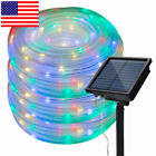 Solar Led Christmas Tree Lights Outdoor String Led Twinkle Lights Outdoor Fairy
