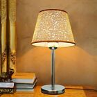Bedside Table Lamp Decorative Led Desk Light Study Working Lighting Lampshades