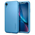 iPhone XR | Spigen® [Thin Fit 360] Shockproof Case Cover + Free Screen Protector