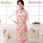 Women Funny Aprons Chefs Kitchen Vintage Novelty + Pockets For Cooking BBQ Xmas