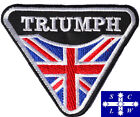 """Motorcycle Riders Embroidered Patch """"TRIUMPH"""" Size: 10 x 8 cm $5.0 AUD on eBay"""