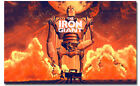 THE IRON GIANT Movie Vintage WallPaper Poster Art Print 12x19inch 17x27inch