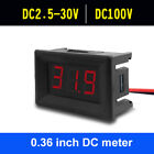 Внешний вид - Voltage Display DC Meter 3-Digital Mini Voltmeter Wire LED Panel Accurate Tester