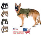 Pet Supplies Tactical Dog Harness Train K9 Military Adjustable Molle Nylon Vest