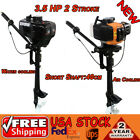 3.5 HP 2-Stroke Outboard Motor Inflatable Boat Engine Water/ Air Cooling 2.5KW