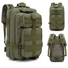 30L Military style Waterproof Backpack, climbing, hiking, 1 Day Camping trip lot