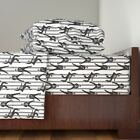 Elvis Jail Prison Jailhouse Rock Music 100% Cotton Sateen Sheet Set by Roostery